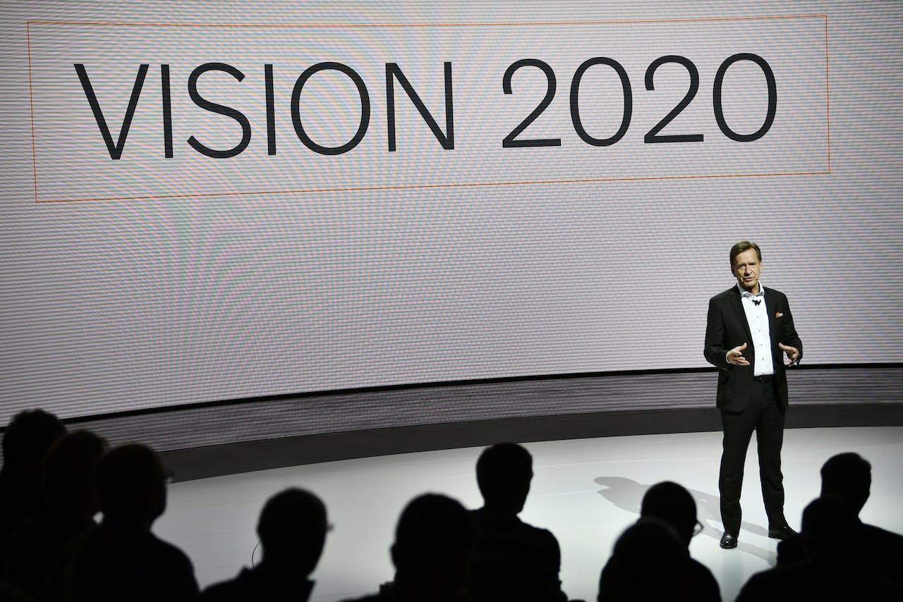 Volvo Cars-CEO Hakan Samuelsson vertelt over de nieuwe veiligheidsplannen van de autofabrikant