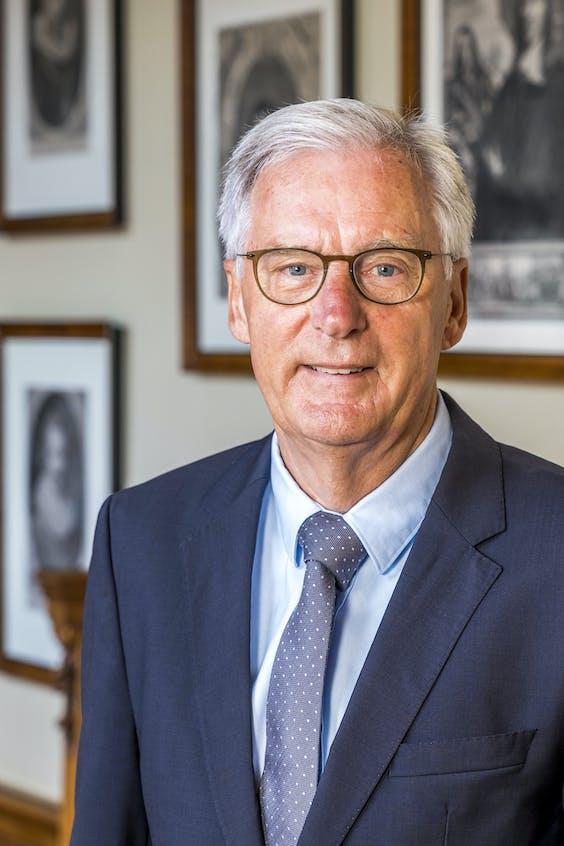 CDA Eerste-Kamerlid Ben Knapen.