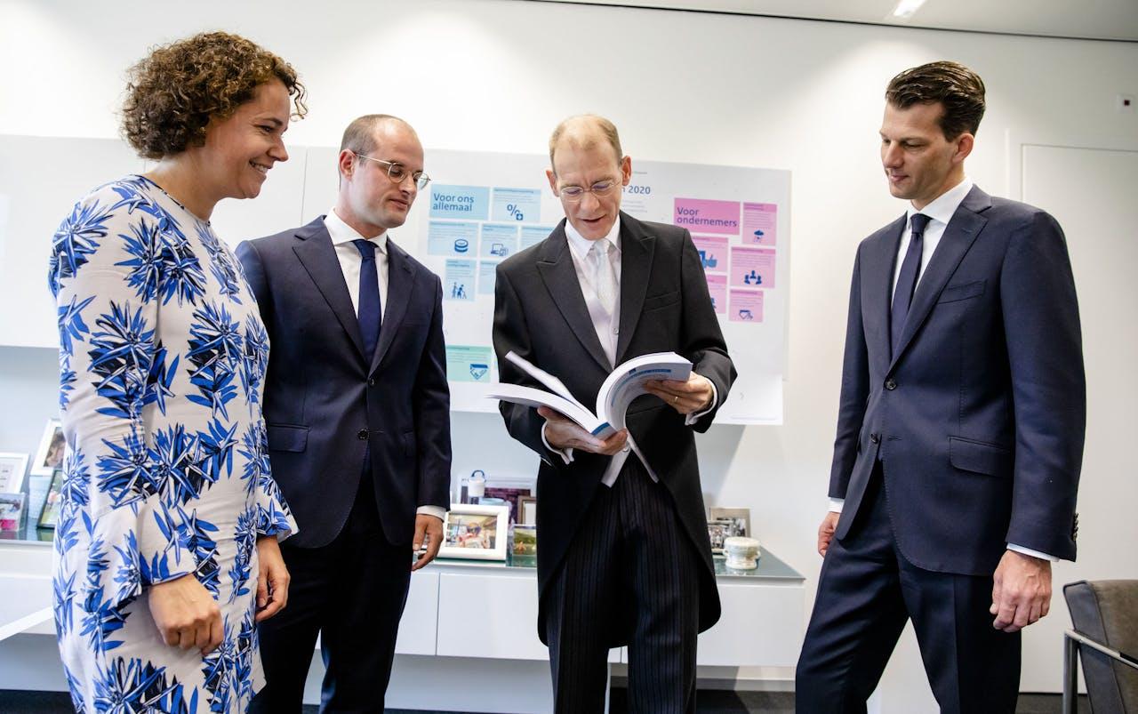 Staatssecretaris Menno Snel van Financiën presenteert op Prinsjesdag het Belastingplan 2020.