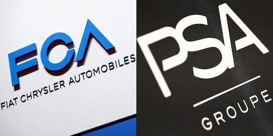 Automakers PSA en Fiat Chrysler hebben officieel bekend gemaakt te willen fuseren