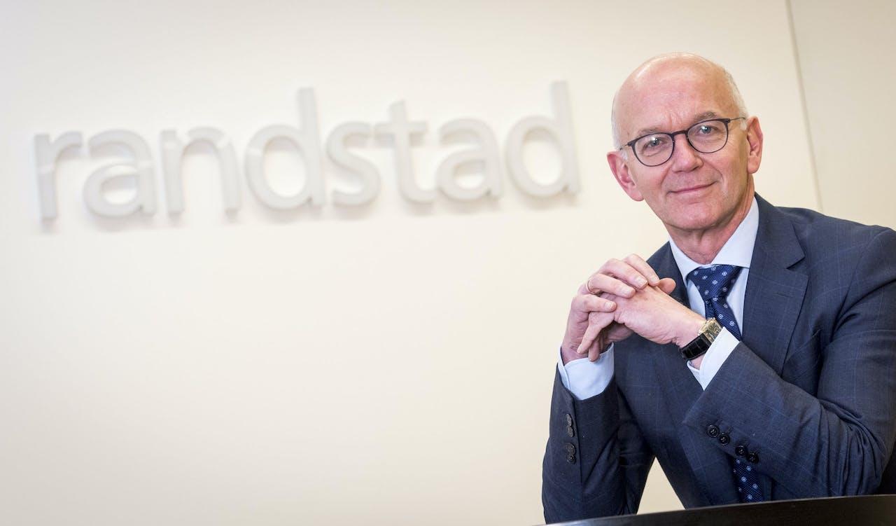 CEO van Randstad, Jacques van den Broek.