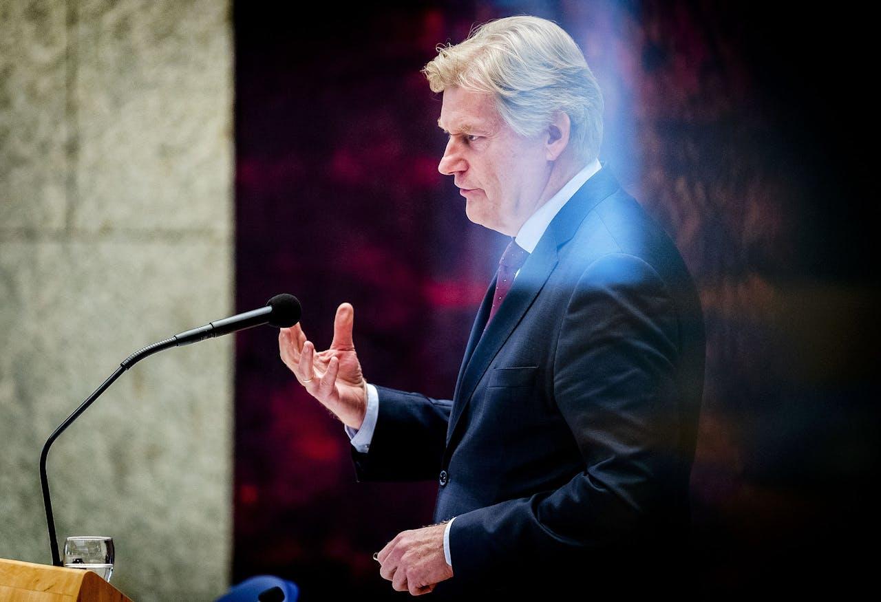 Martin van Rijn nog als staatssecretaris, tijdens een debat over het tekort aan verpleging voor mensen die thuis willen sterven.