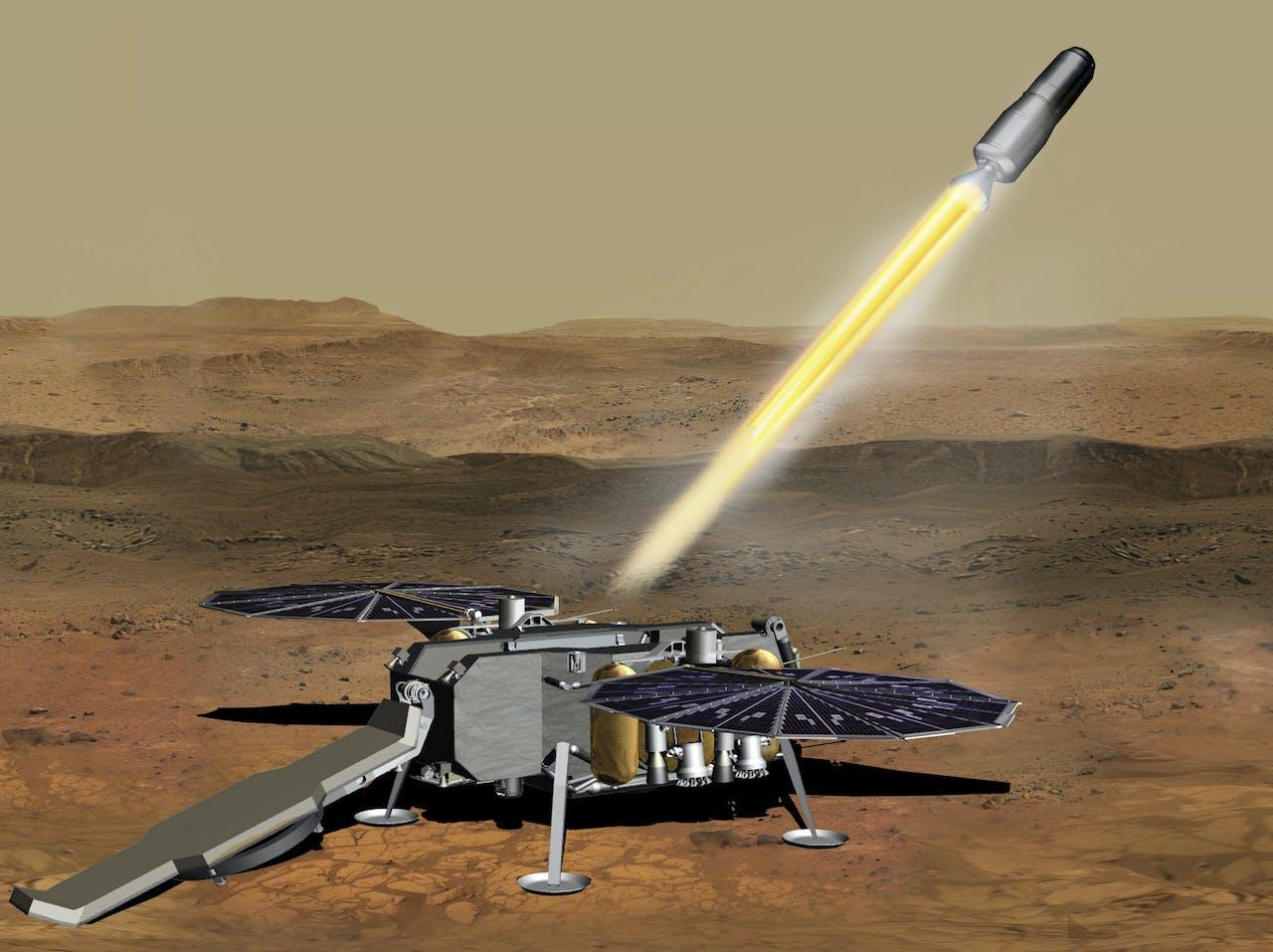 Het NASA Mars Ascent Vehicle
