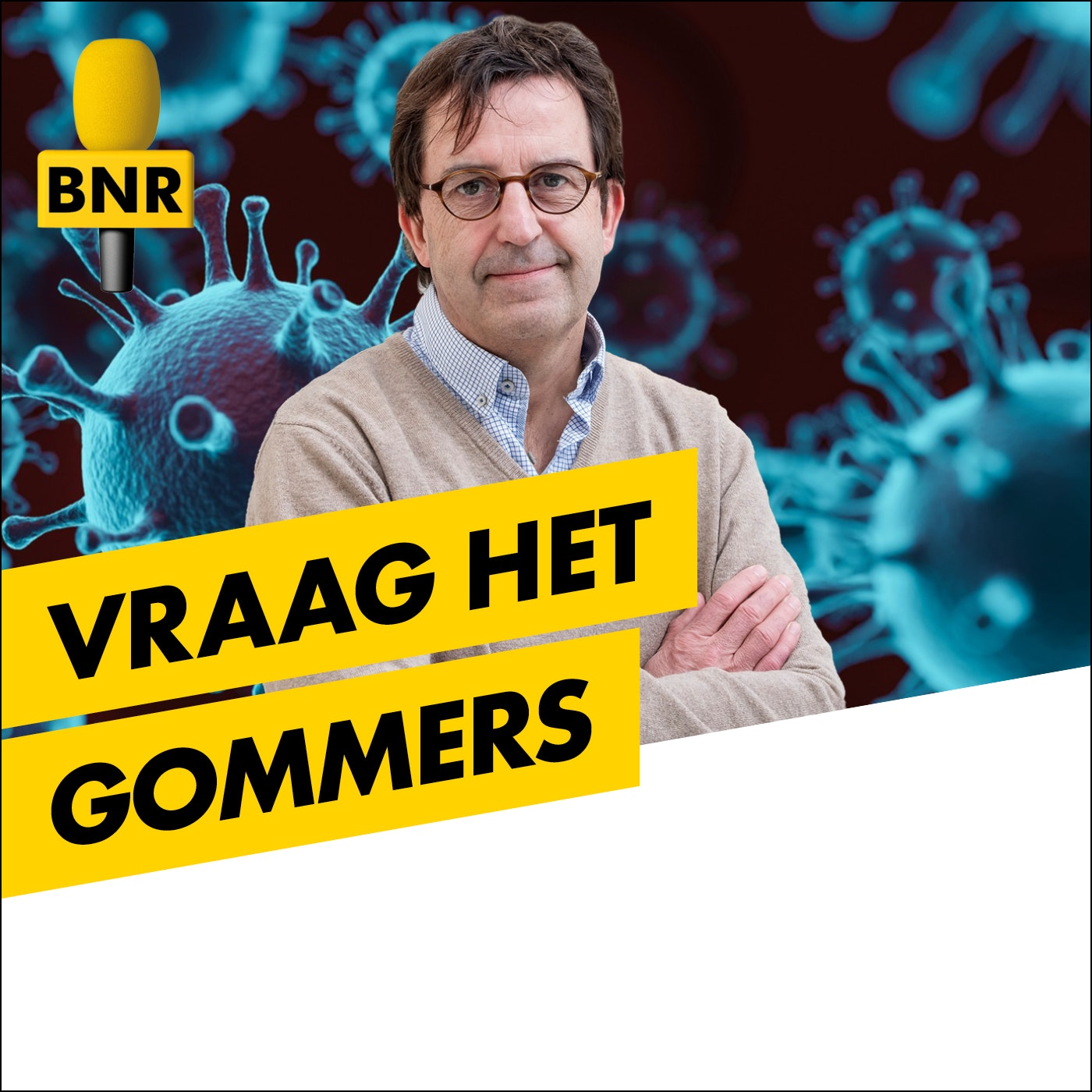 Vraag het Gommers | BNR logo