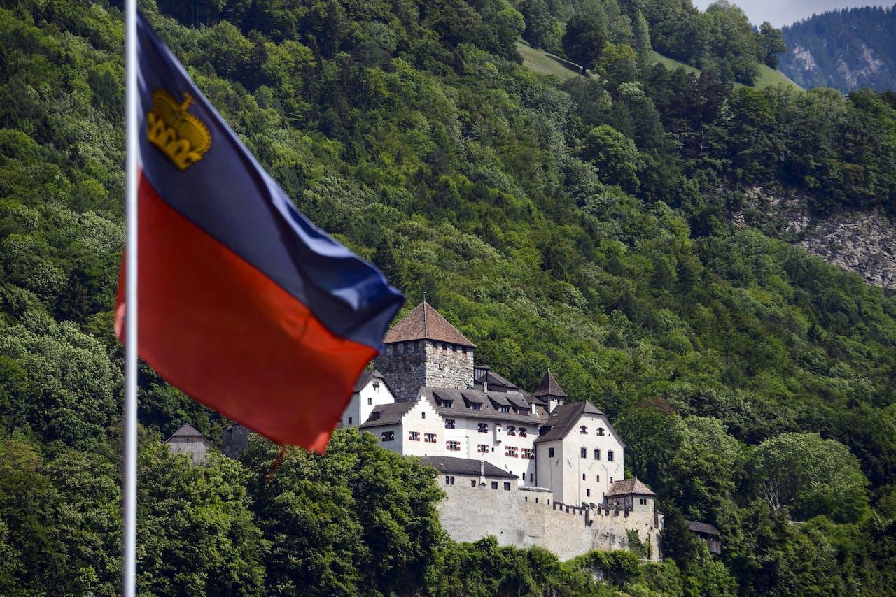 Kasteel van de koninklijke familie in Liechtenstein.
