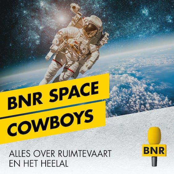 BNR radio vormgeving voor de losse programma's space cowboys