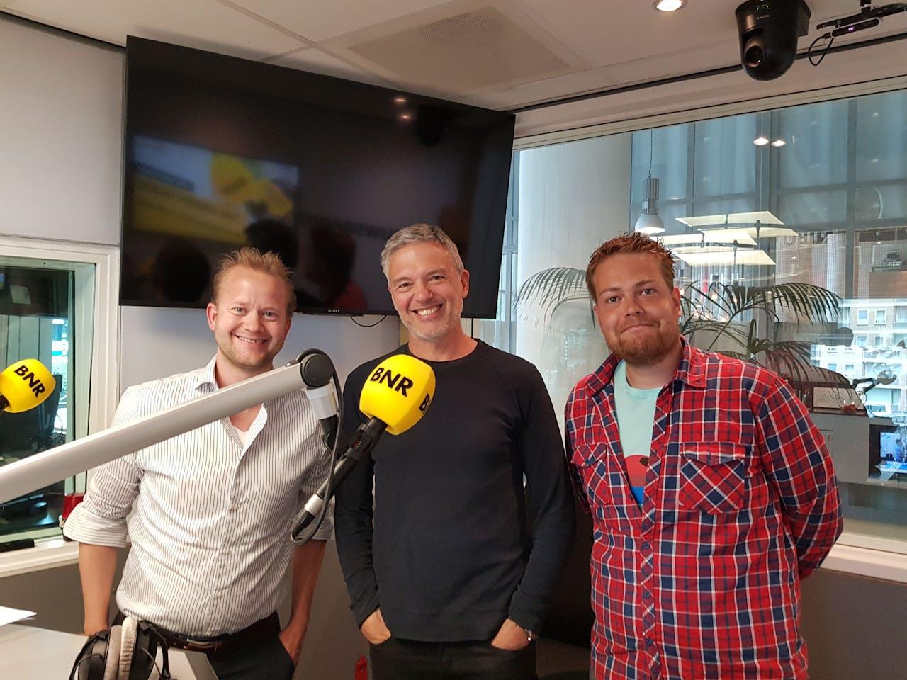 V.l.n.r.: Niek Mouter, Paul Laseur en Martjan Kuit.