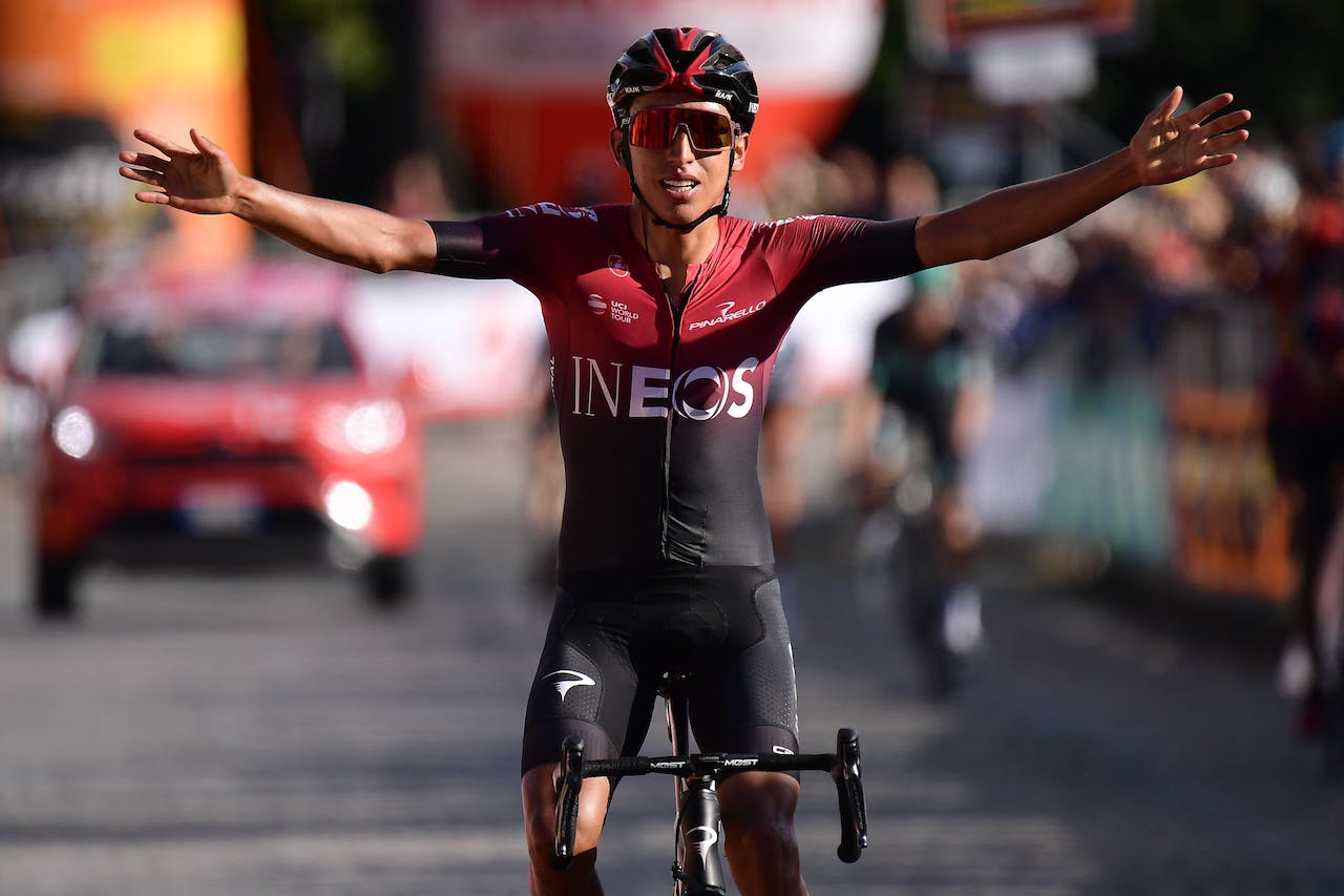 Tourwinnaar 2019: de Colombiaan Egan Bernal
