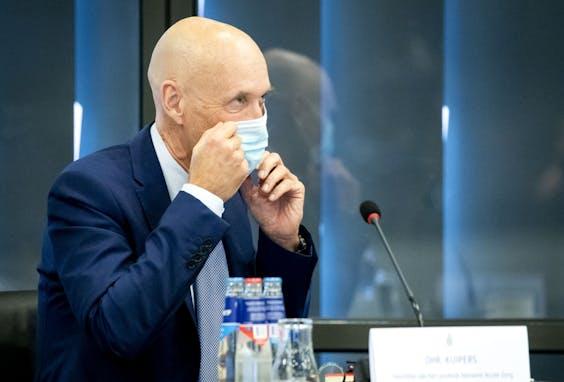 Ernst Kuipers, voorzitter van het Landelijk Netwerk Acute Zorg (LNAZ), tijdens een informatiebijeenkomst in de Tweede Kamer.