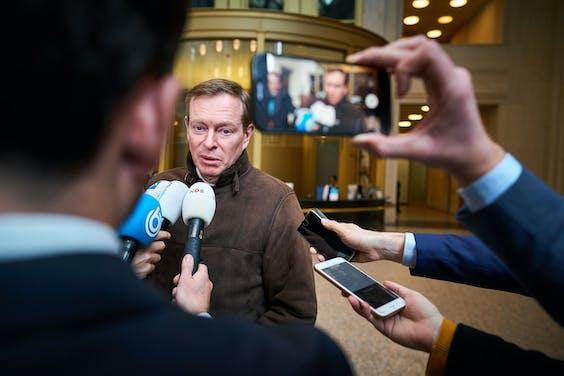 Minister Bruno Bruins voor Medische Zorg