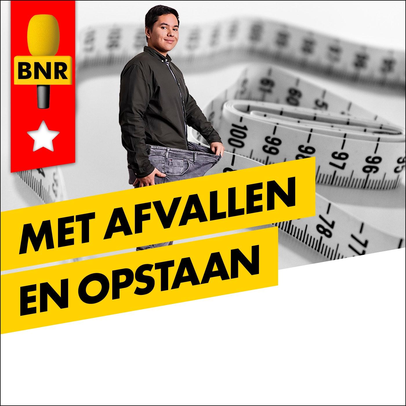 Met Afvallen en Opstaan   BNR logo