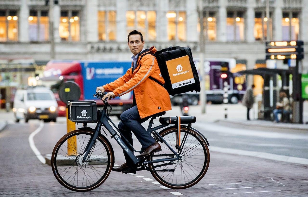 CEO Jitse Groen van Just Eat Takeaway.