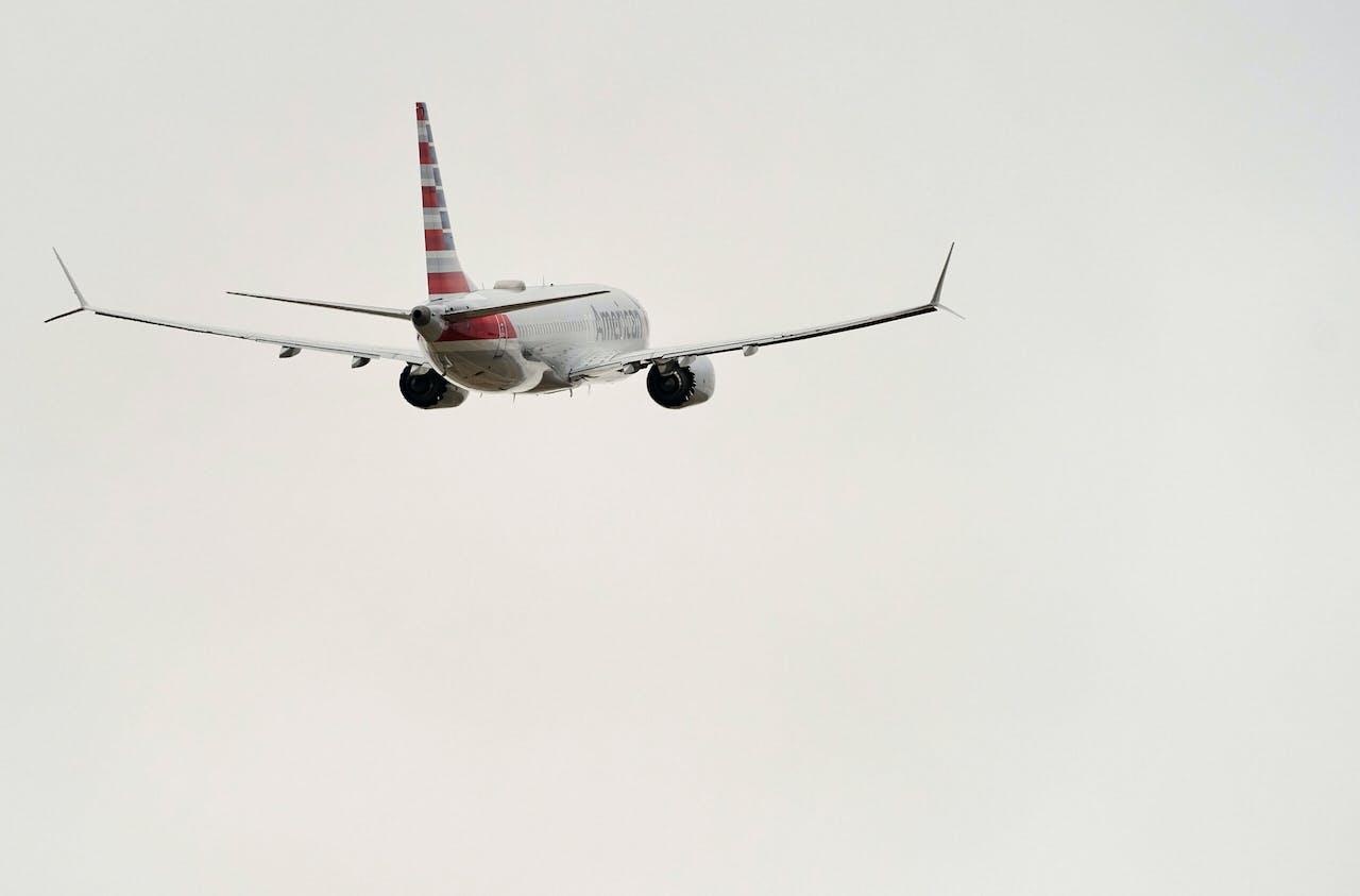Een Amerikaanse Boeing 737 MAX