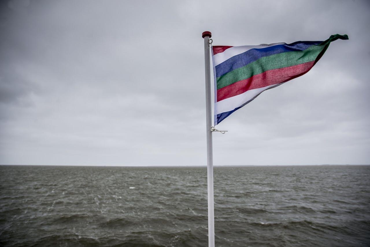De Waddenzee in de omgeving van Schiermonnikoog.