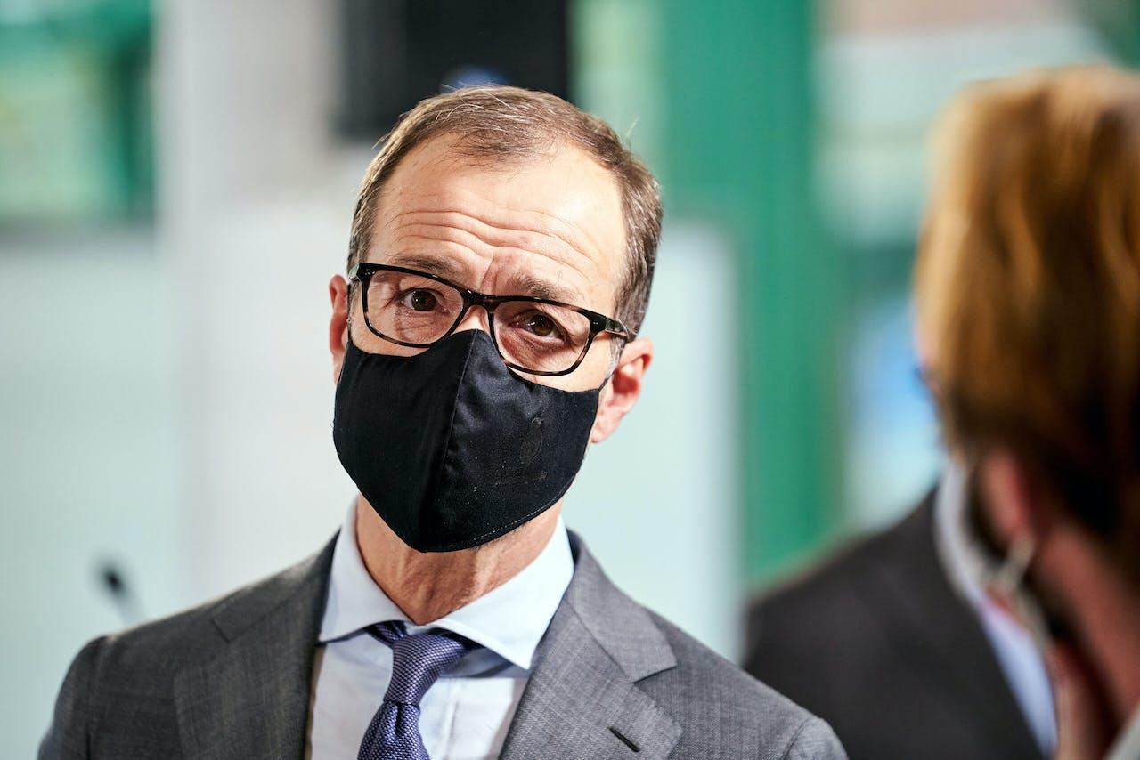 Ministers Eric Wiebes (Economische Zaken en Klimaat