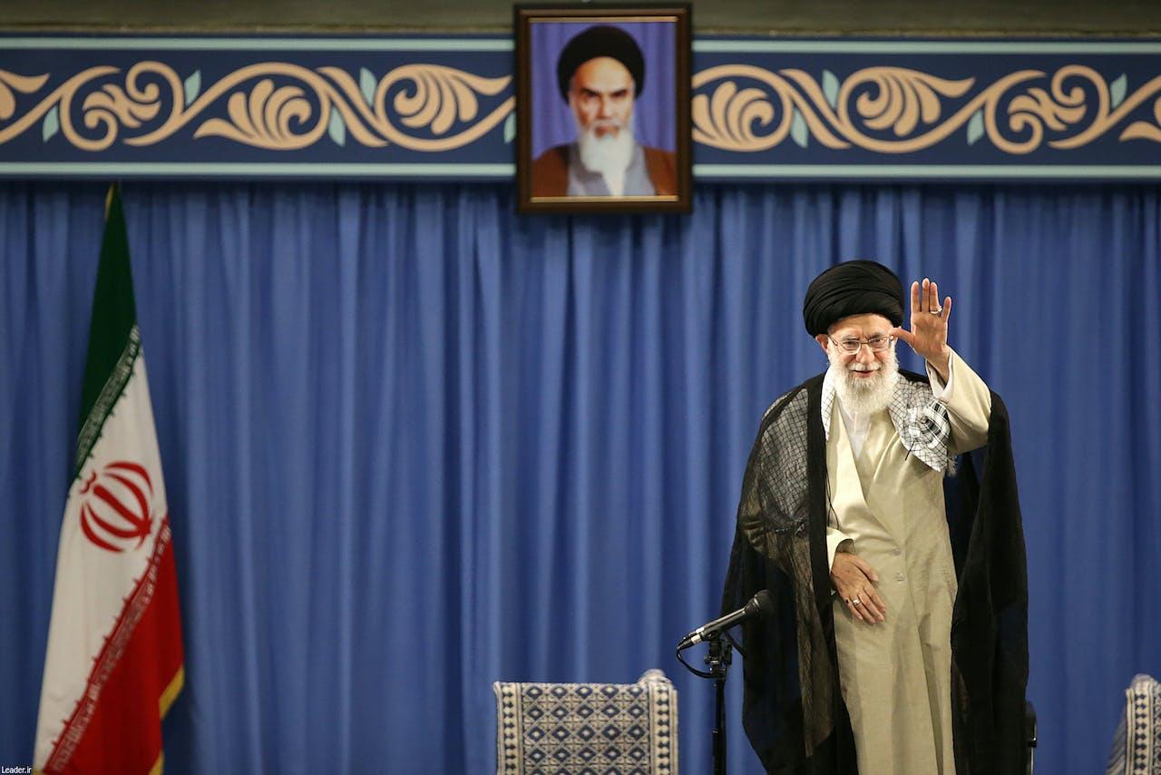 De Iraanse Ayatholla Ali Khamenei