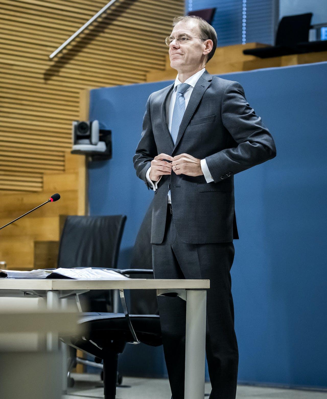 Menno Snel, voormalig staatssecretaris van Financien