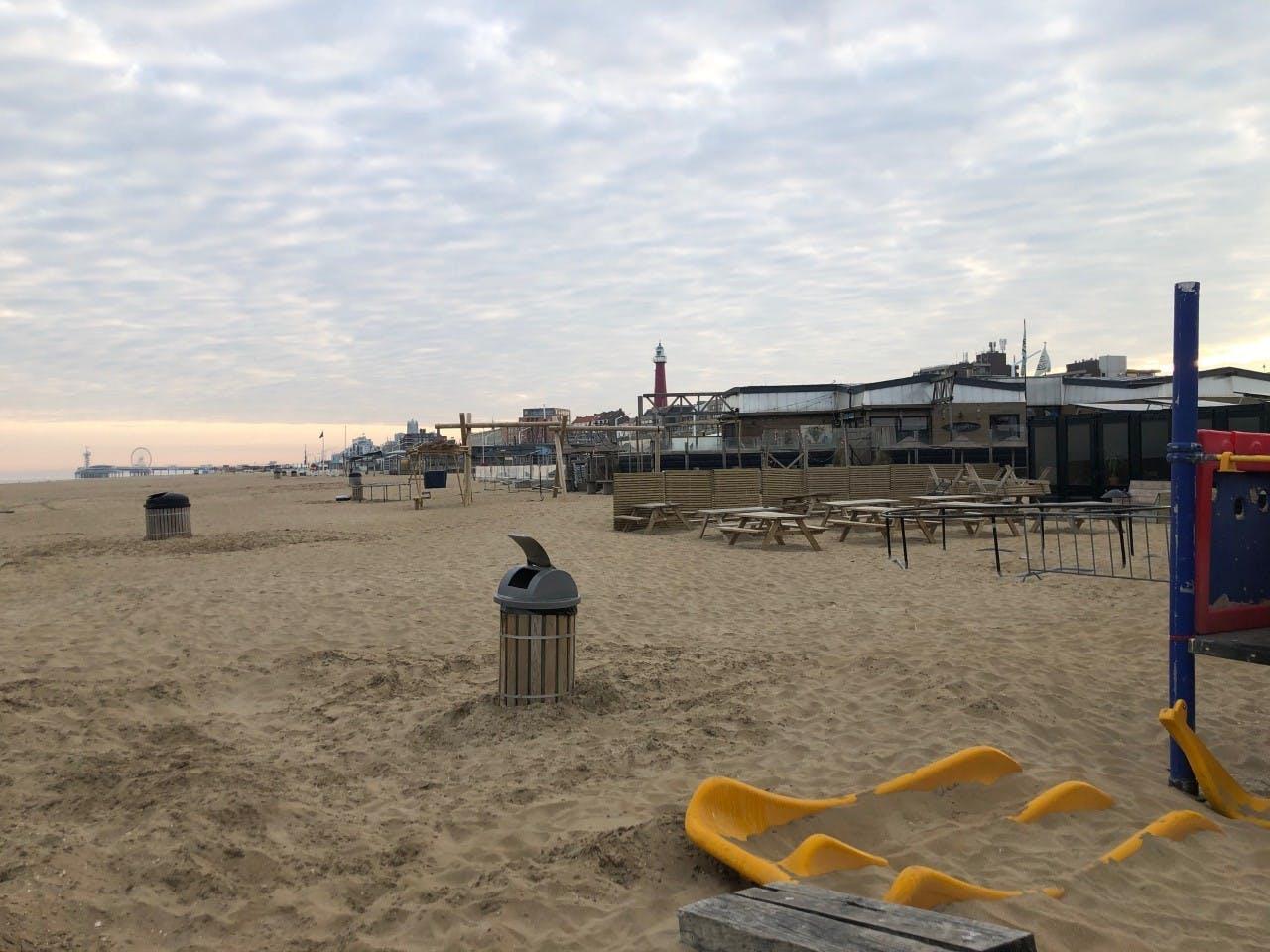 Strandclub 'WIJ' in Scheveningen