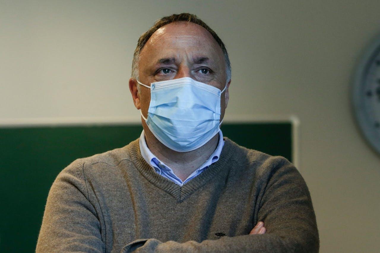 De Belgische viroloog Marc Van Ranst