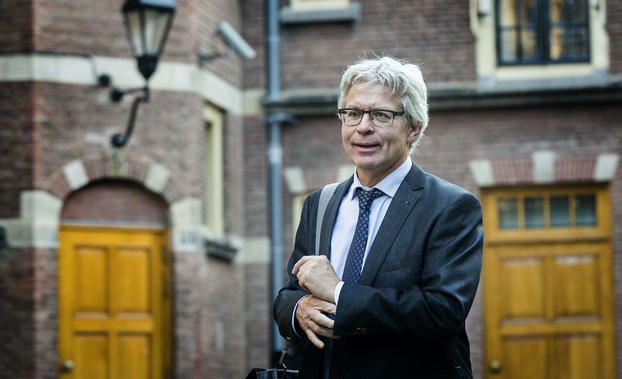 Burgemeester Ferd Crone van Leeuwarden
