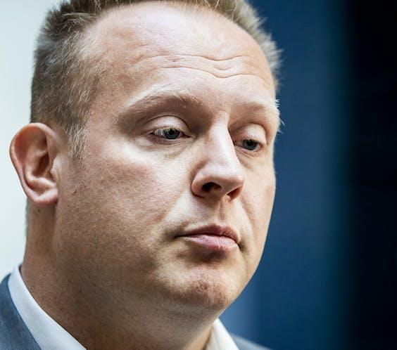 Fractievoorzitter Pieter Heerma (CDA)