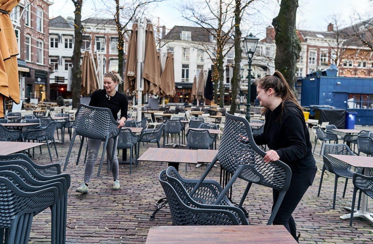 Café op het Plein in Den Haag