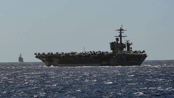 Vliegdekschip USS Theodore Roosevelt (