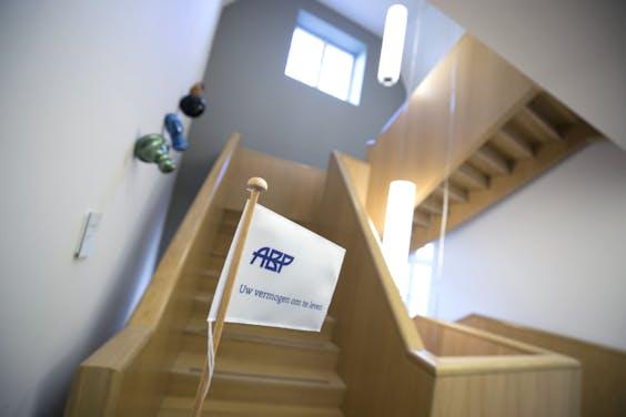 HEERLEN - Interieur hoofdkantoor Stichting Pensioenfonds ABP. ANP MARCEL VAN HOORN
