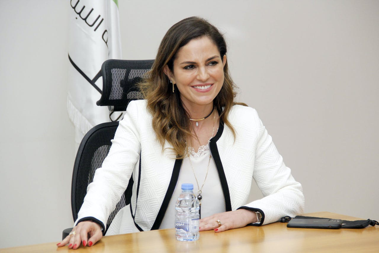 Minister Manal Abdel Samad