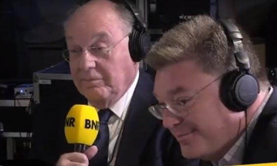 Bernard en David Hammelburg, te gast in The Friday Move