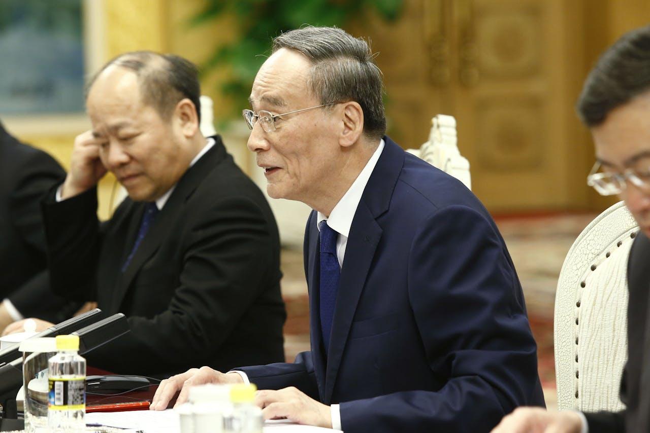 Chinese Vice-President Wang Qishan