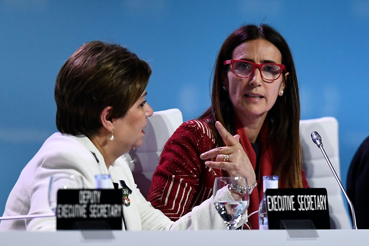 Verenigde Naties-klimaatchef Patricia Espinosa