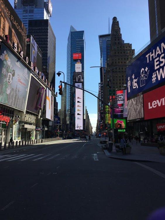 De stille straten van New York