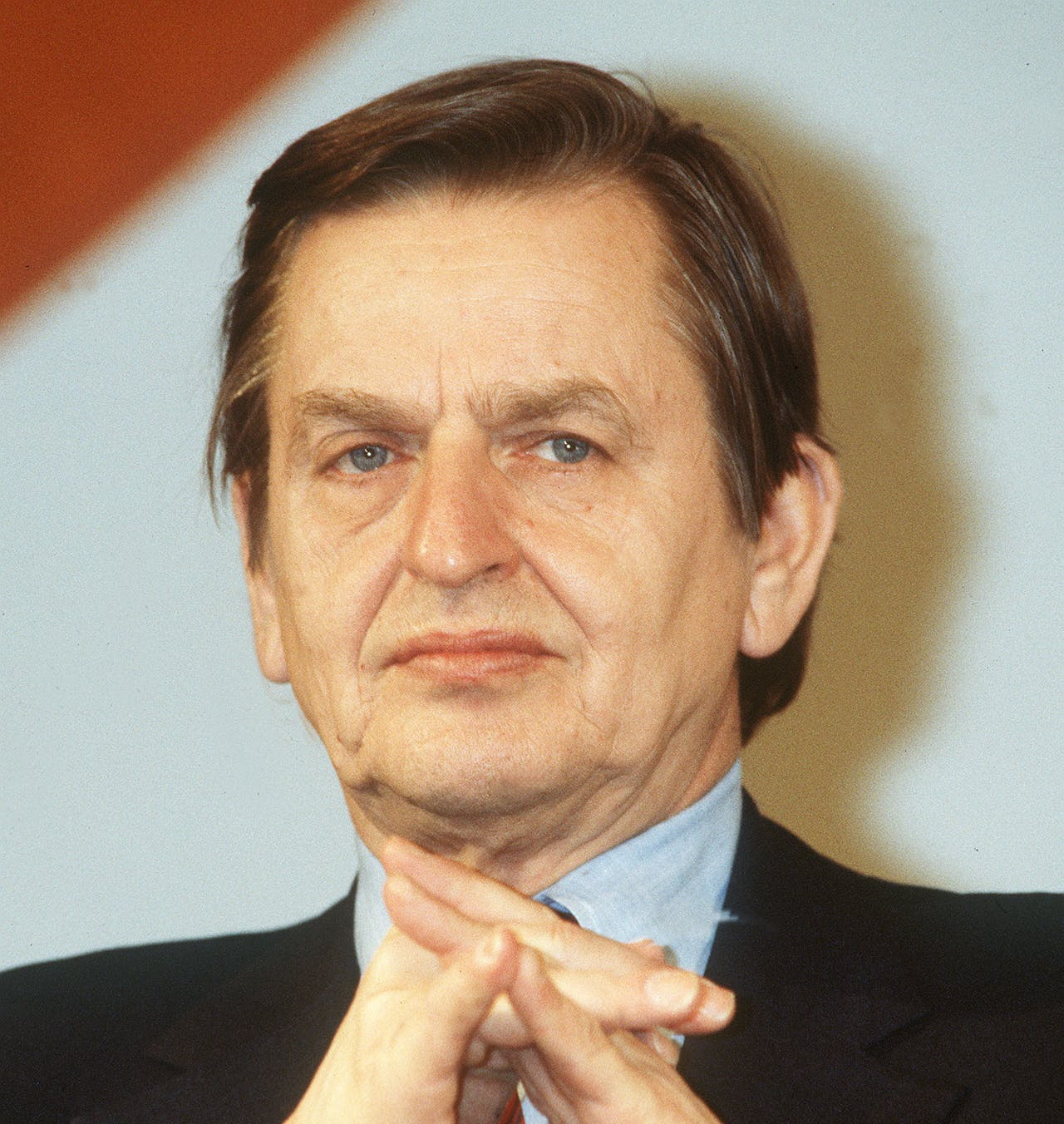 De in 1986 vermoorde Zweedse minister-president Olof Palme