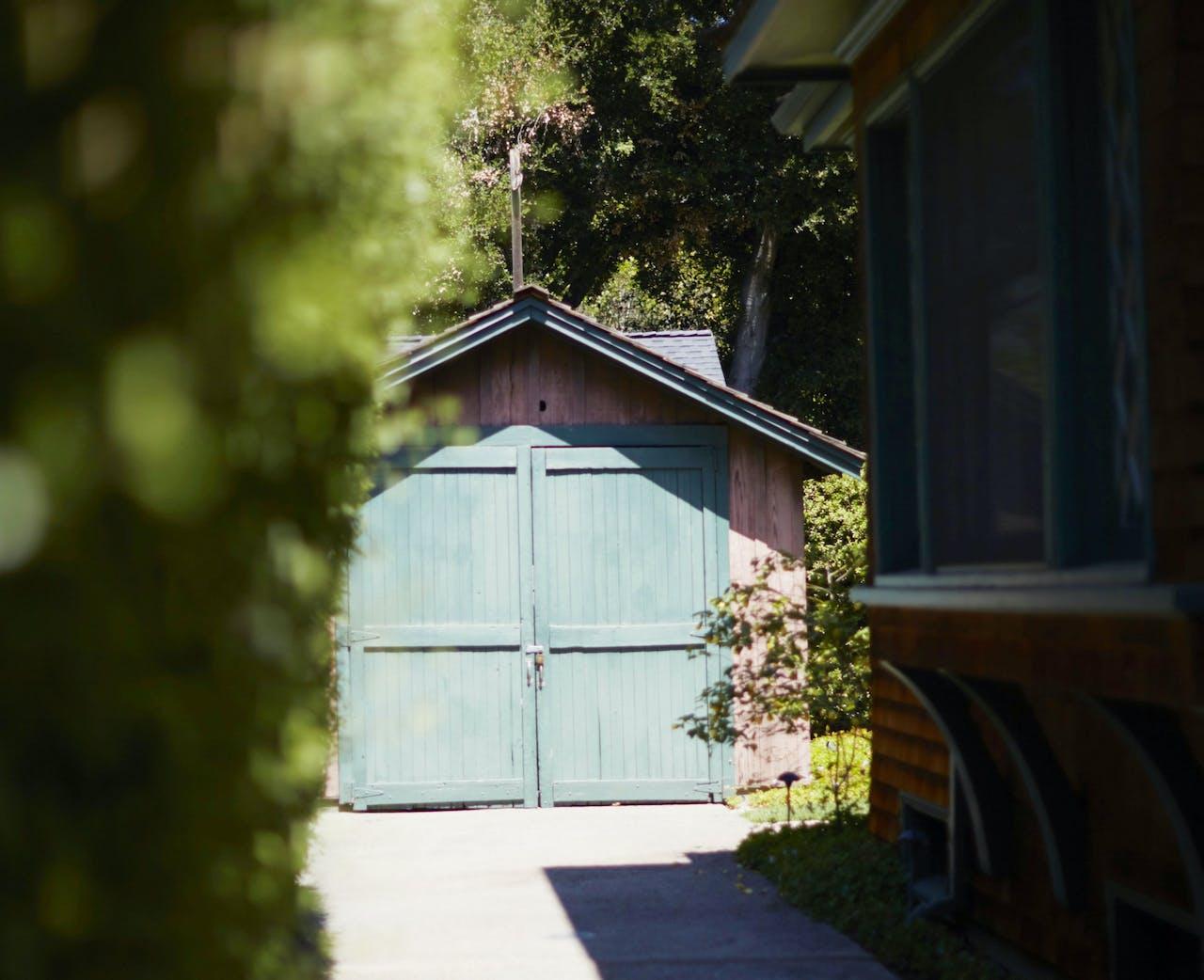 De HP Garage in Palo Alto, waar Hewlett-Packard begon. De garage is nu een privé-museum.