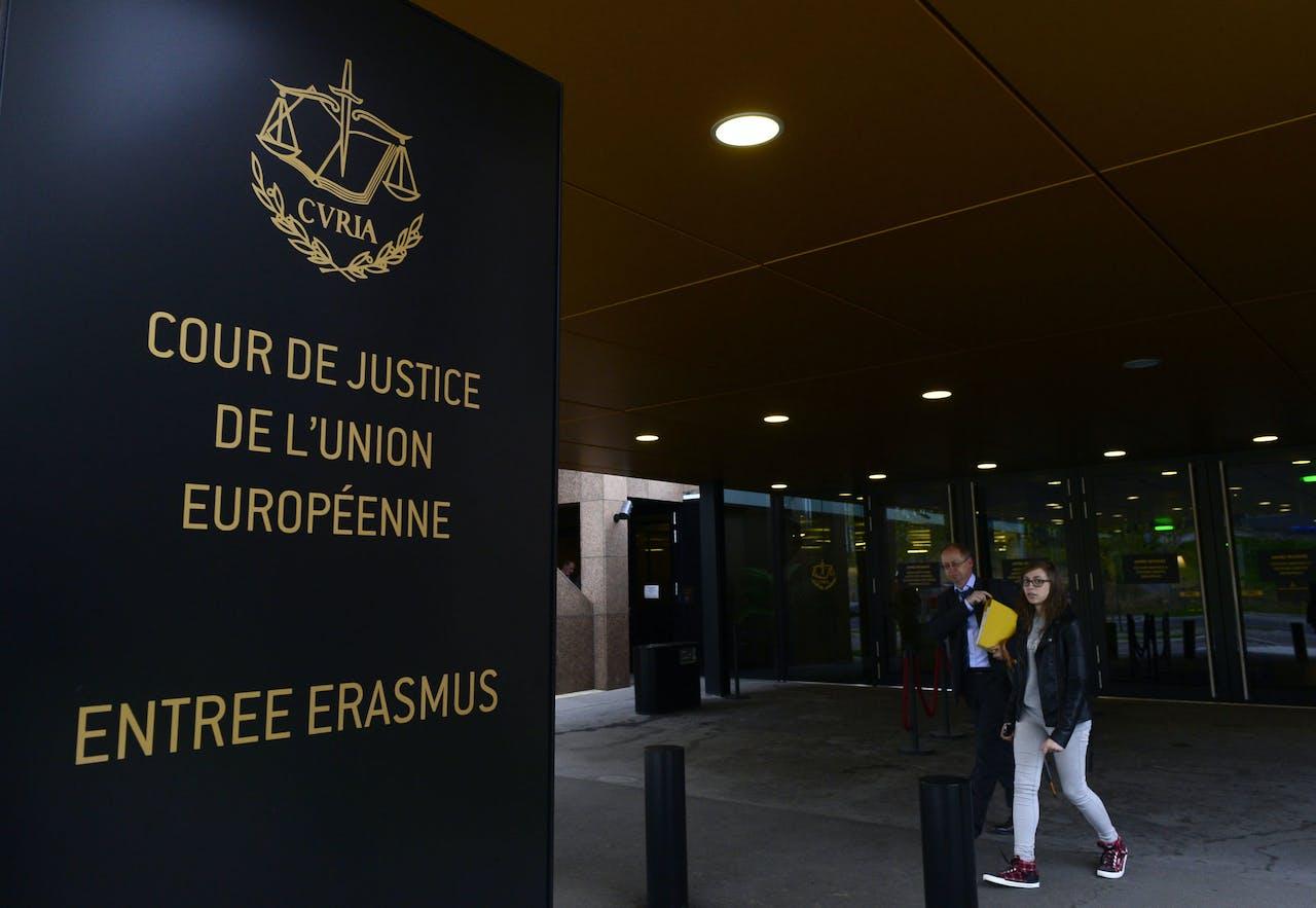 Het Europees Hof van Justitie in Luxemburg