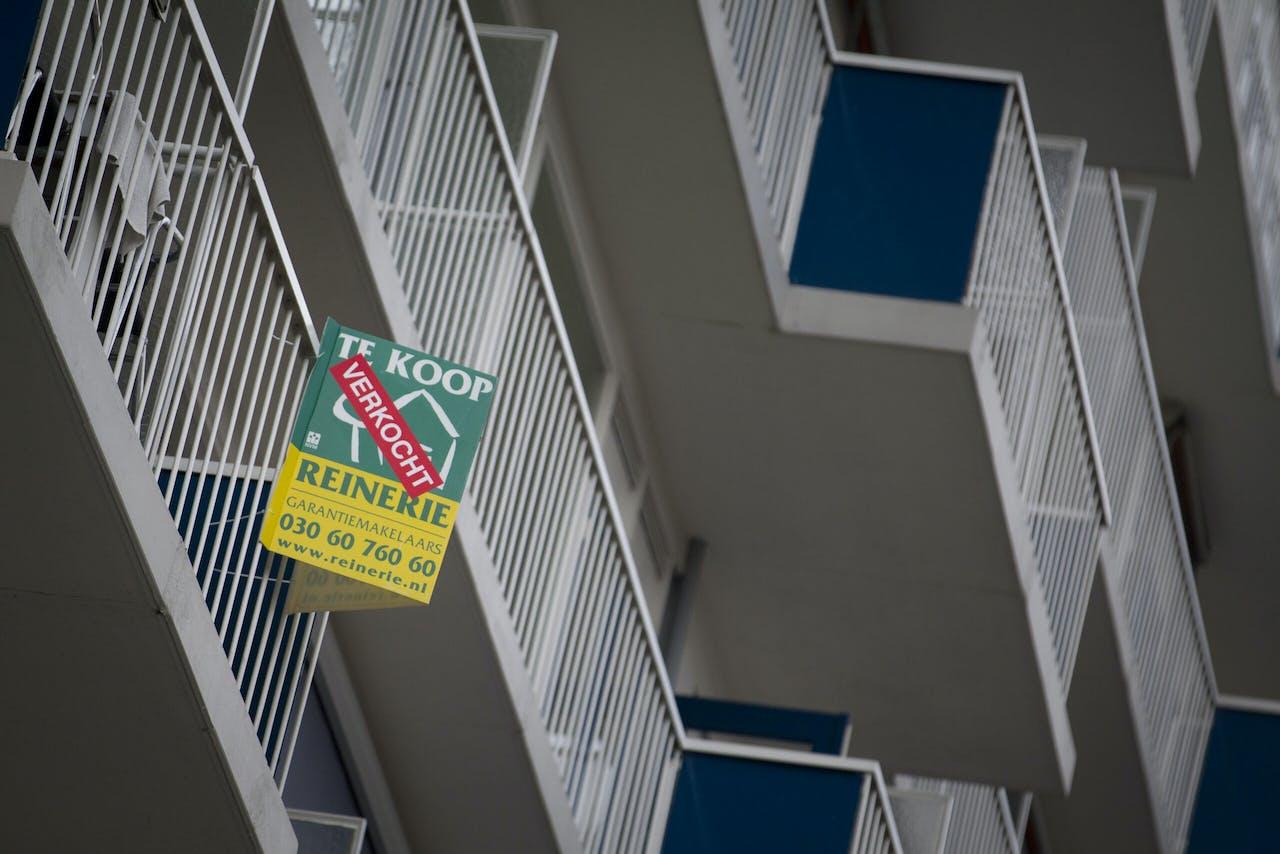 Meer verkochte woningen