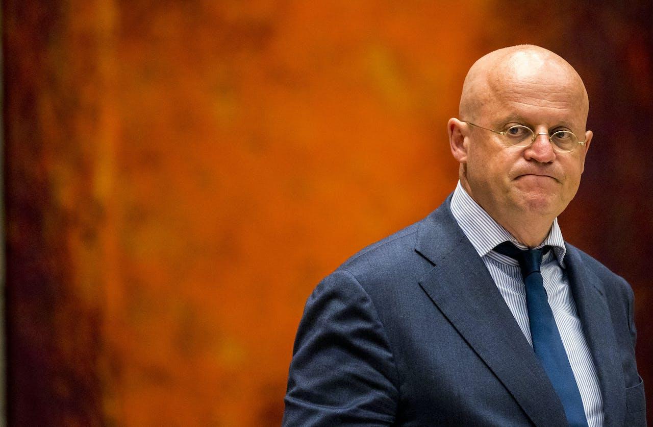 Minister van Justitie en Veiligheid Ferdinand Grapperhaus