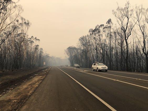 Een gebied groter dan Nederland is nu verbrand