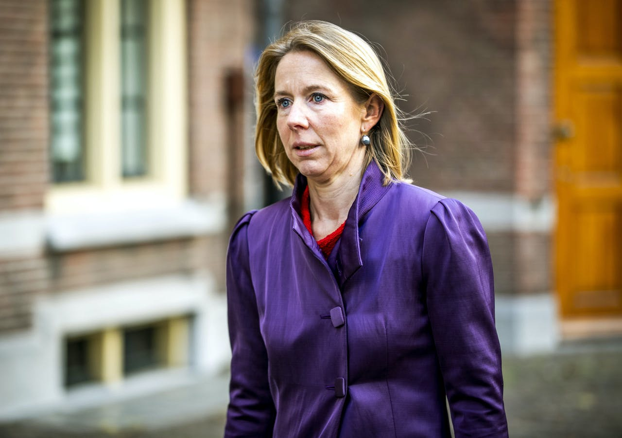 Stientje van Veldhoven, staatssecretaris van Infrastructuur en Waterstaat ANP REMKO DE WAAL