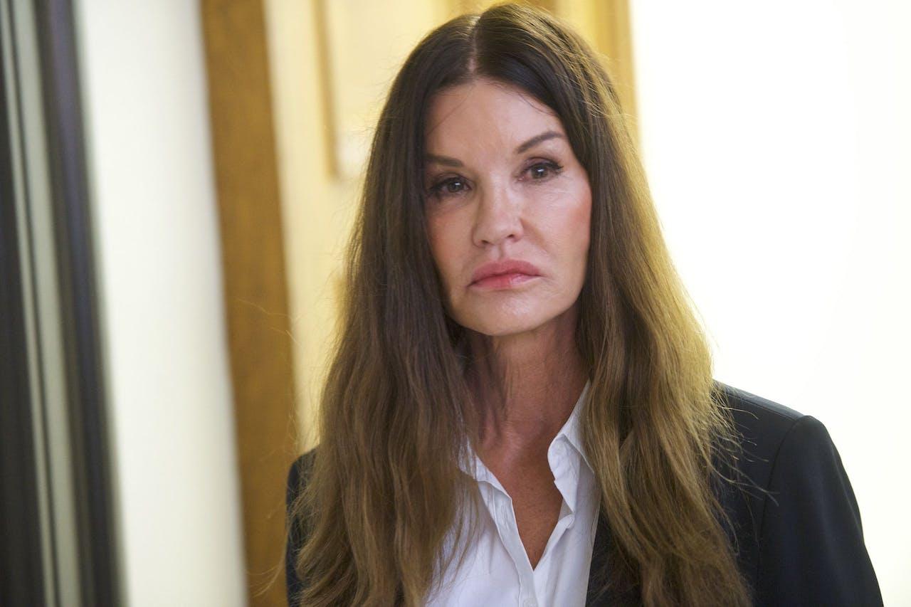 Voormalig model Janice Dickinson, die zichzelf veelvuldig liet opereren.