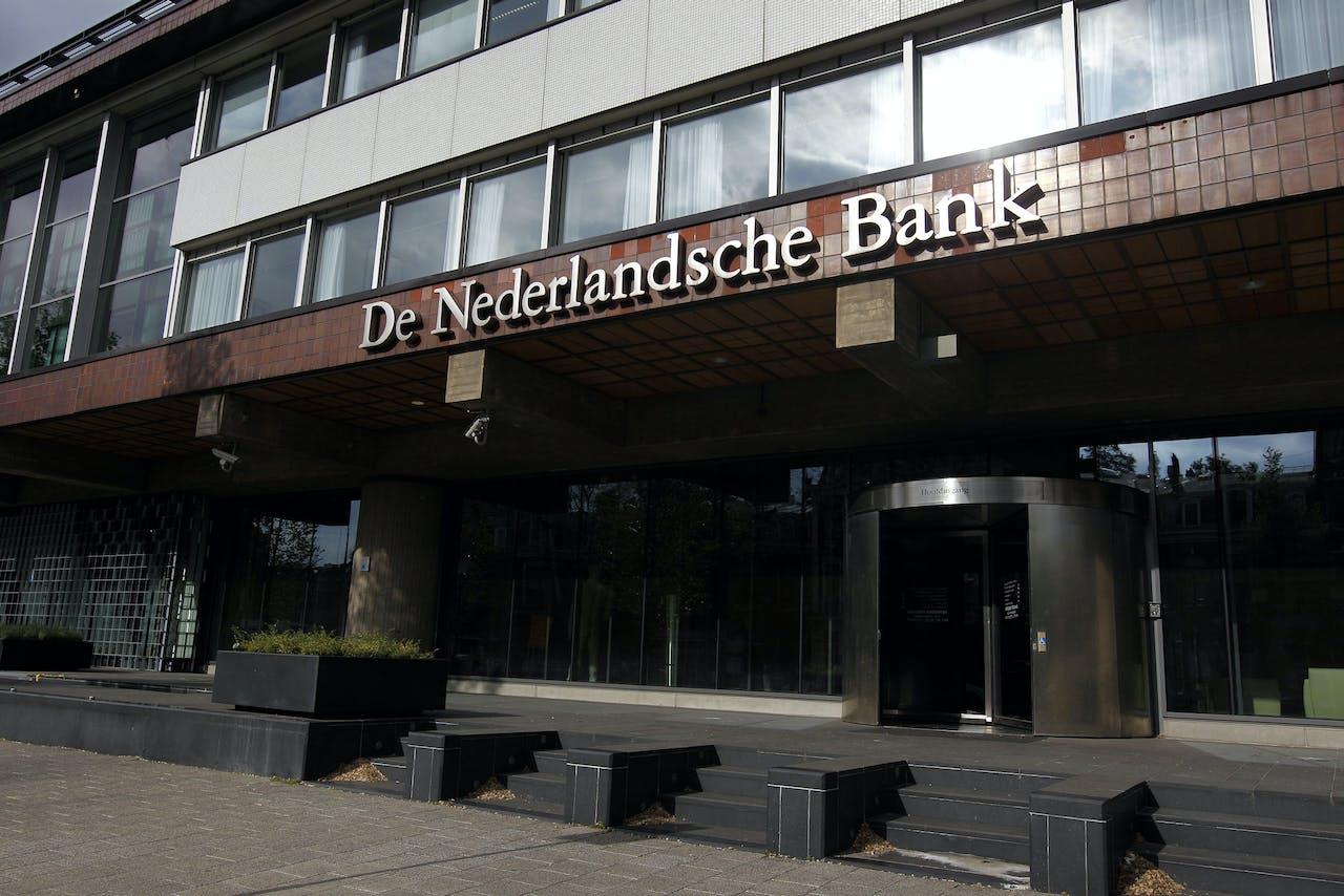 Exterieur van De Nederlandsche Bank.