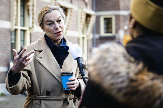 Sigrid Kaag, demissionair minister voor Buitenlandse Handel