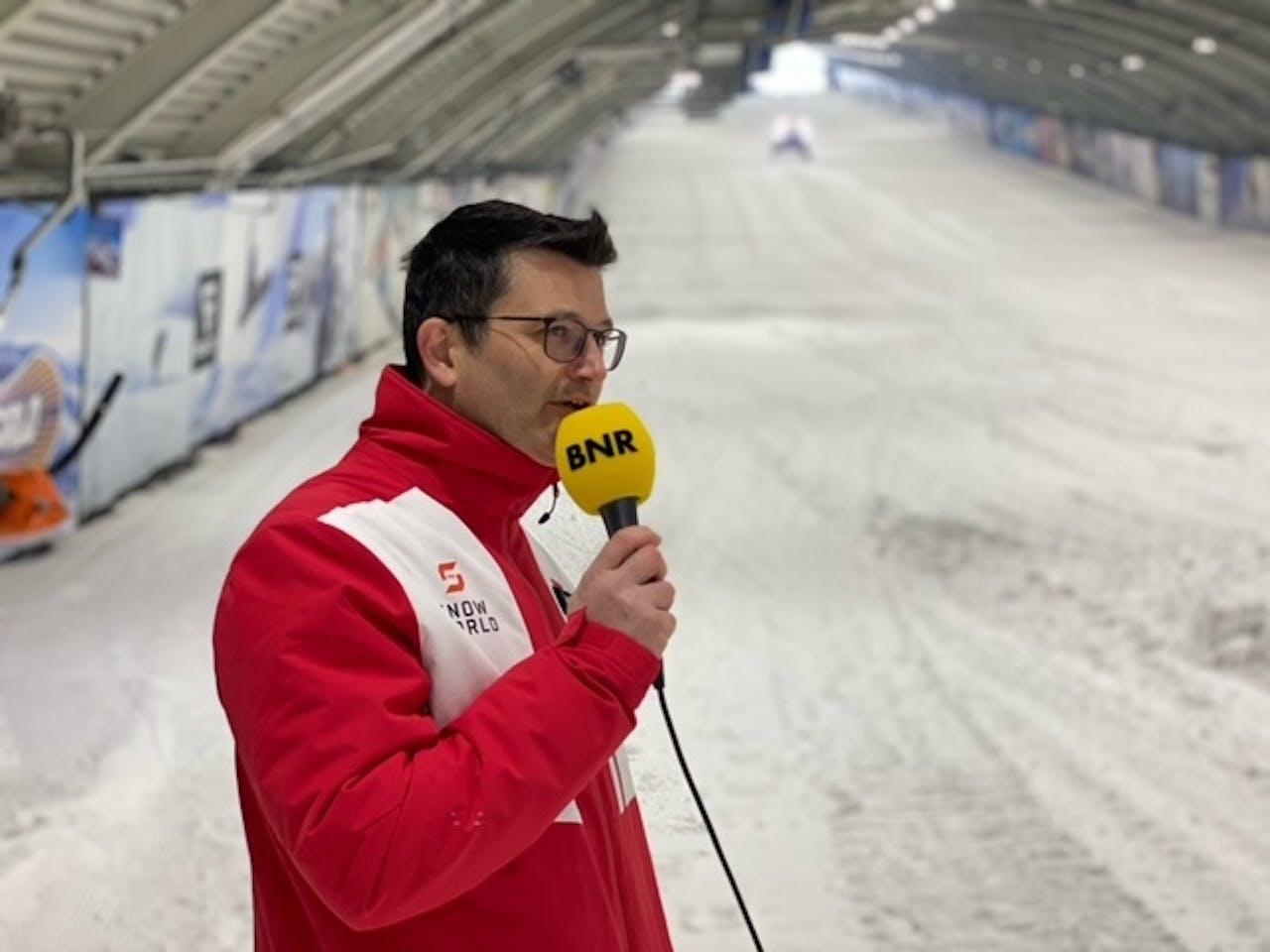Wim Hubrechtsen, CEO van Snowworld