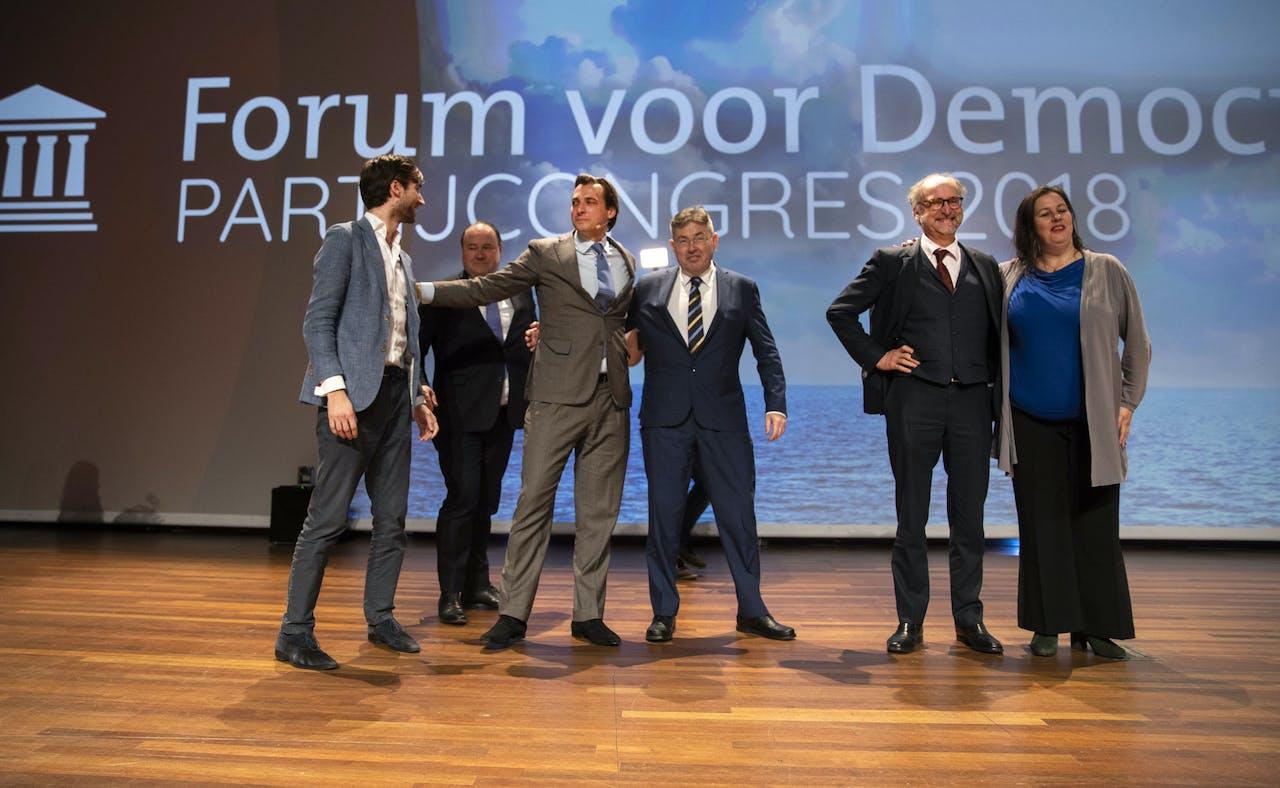 AMSTERDAM - Het congres van Forum voor Democratie. ANP JEROEN JUMELET