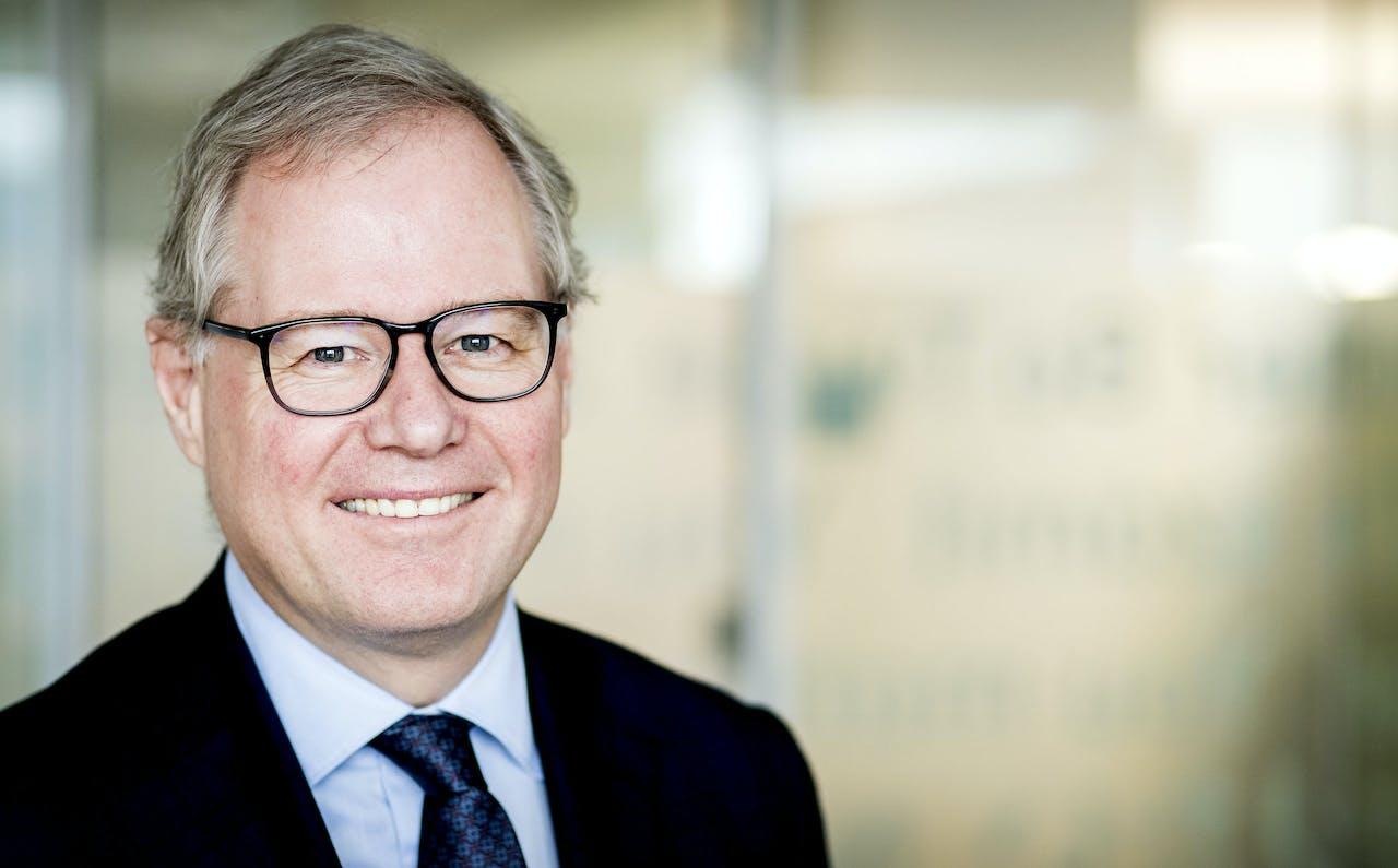 2017-02-16 12:28:06 DEN HAAG - Portret van Lard Friese, CEO van NN Group. ANP KOEN VAN WEEL