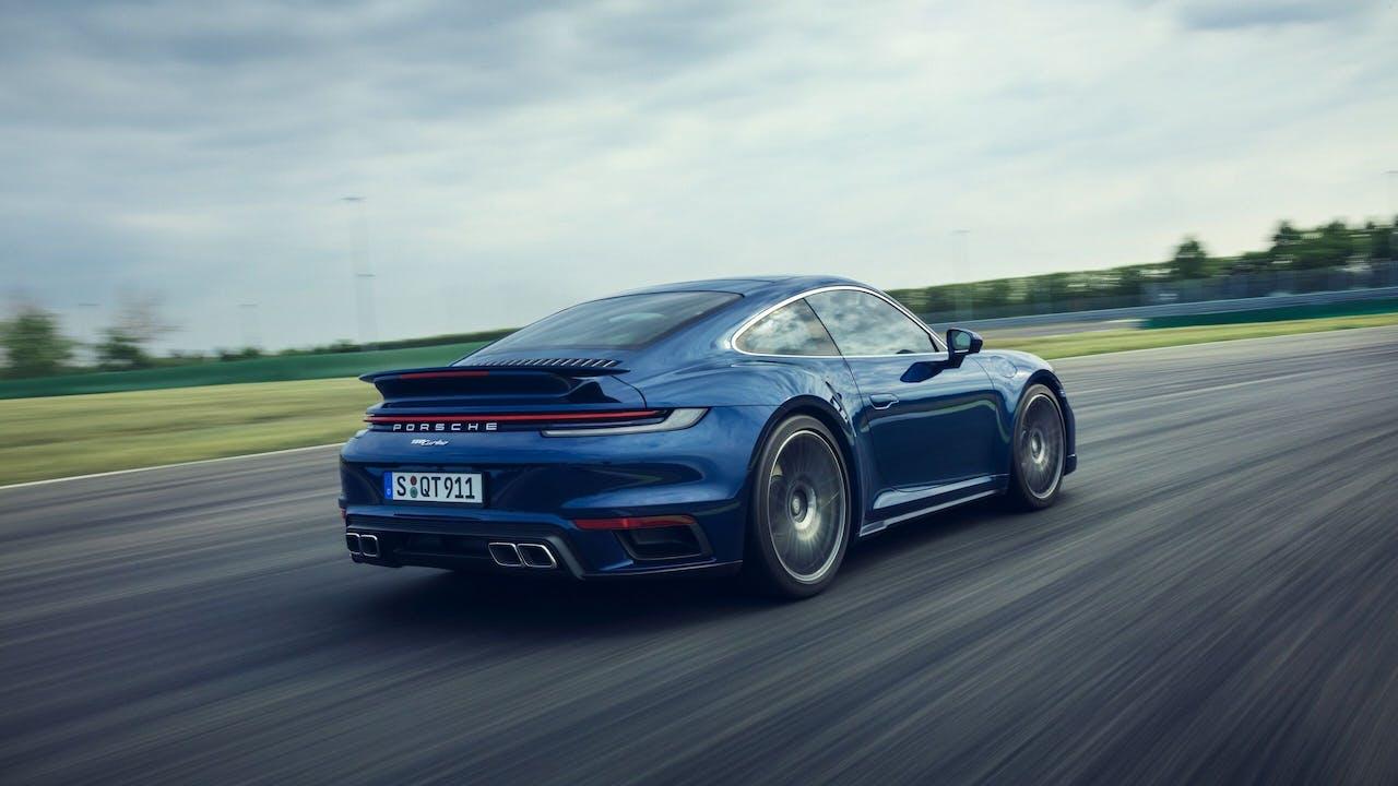 De nieuwe Porsche 911 Turbo