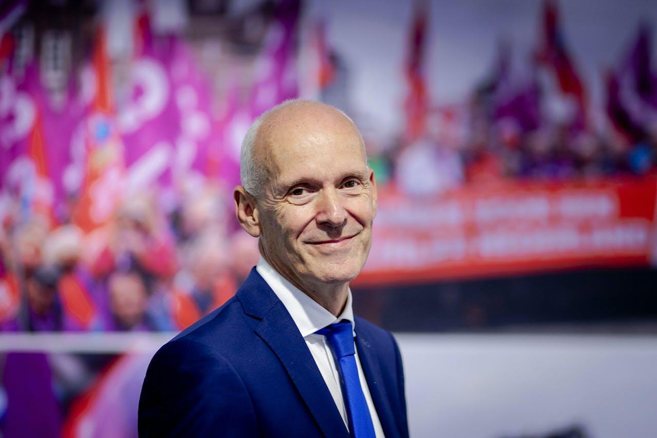 Piet Fortuin, voorzitter van CNV Vakcentrale.