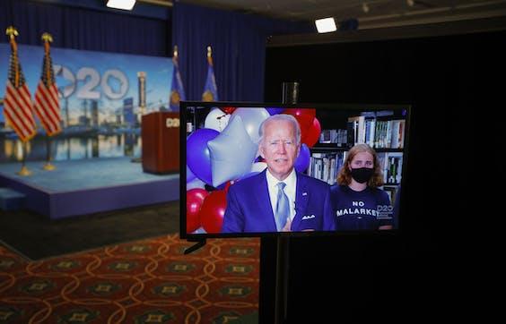 Presidentskandidaat Joe Biden