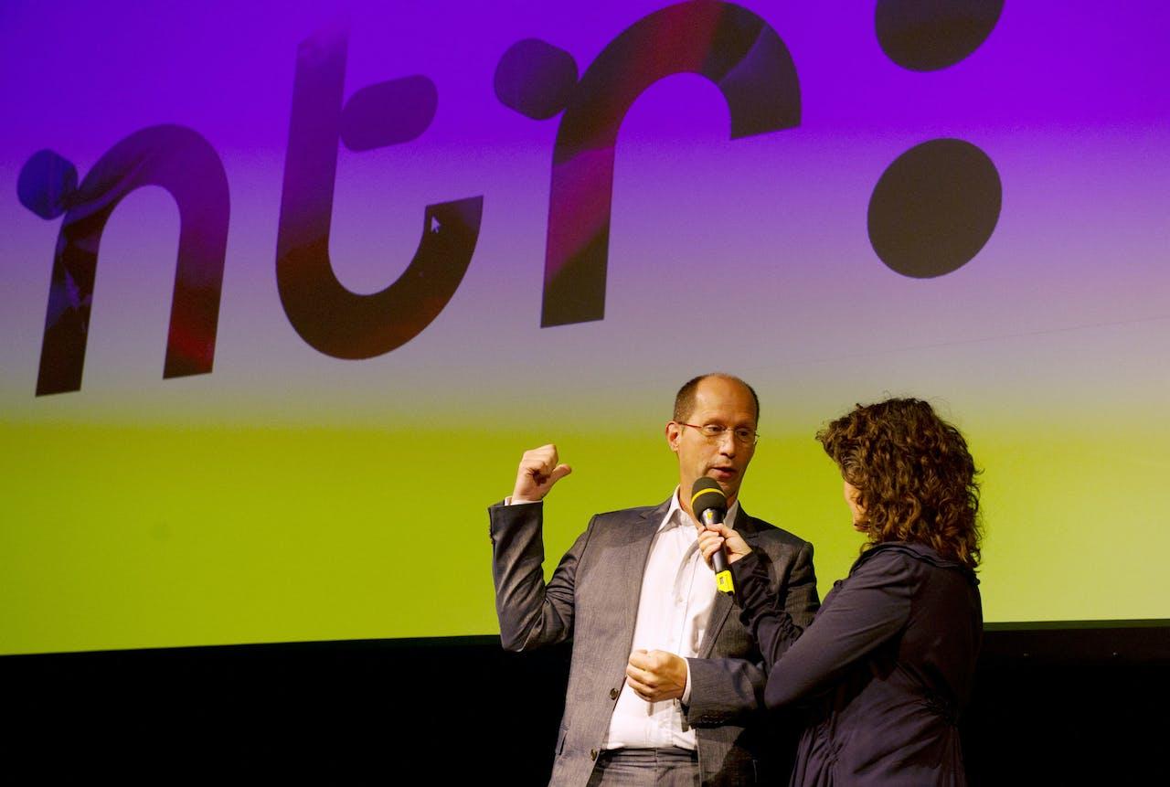 Najaarspresentatie NTR met directeur Paul Römer.
